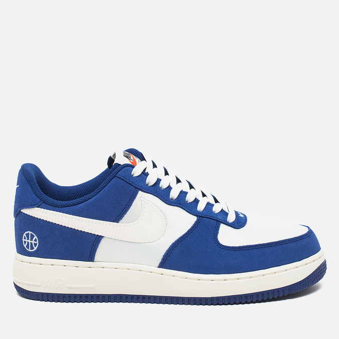 Мужские кроссовки Nike Air Force 1 '07 Deep Royal Blue Sail