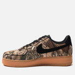 Мужские кроссовки Nike Air Force 1 '07 LV8 3 Black/Black/Aloe Verde/Gum Med Brown фото- 2