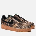 Мужские кроссовки Nike Air Force 1 '07 LV8 3 Black/Black/Aloe Verde/Gum Med Brown фото- 1