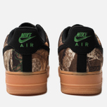 Мужские кроссовки Nike Air Force 1 '07 LV8 3 Black/Black/Aloe Verde/Gum Med Brown фото- 3