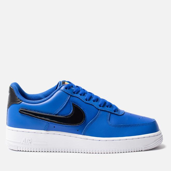 Мужские кроссовки Nike Air Force 1 '07 LV8 3 Racer Blue/Vapor Green/Black/White
