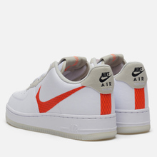 Мужские кроссовки Nike Air Force 1 '07 LV8 3 White/Total Orange/Summit White/Black фото- 2