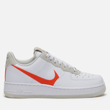 Мужские кроссовки Nike Air Force 1 '07 LV8 3 White/Total Orange/Summit White/Black фото- 3