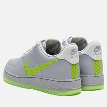 Мужские кроссовки Nike Air Force 1 '07 LV8 3 Wolf Grey/Ghost Green/Photon Dust/Black фото- 2