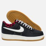 Мужские кроссовки Nike Air Force 1 '07 LV8 Black/Sail/Action Red/Gum Light Brown фото- 1