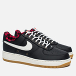 Мужские кроссовки Nike Air Force 1 '07 LV8 Black/Sail/Action Red/Gum Light Brown фото- 2