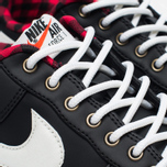 Мужские кроссовки Nike Air Force 1 '07 LV8 Black/Sail/Action Red/Gum Light Brown фото- 3