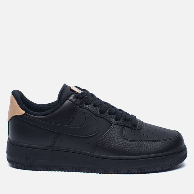 Мужские кроссовки Nike Air Force 1 '07 LV8 Black/Vachetta Tan