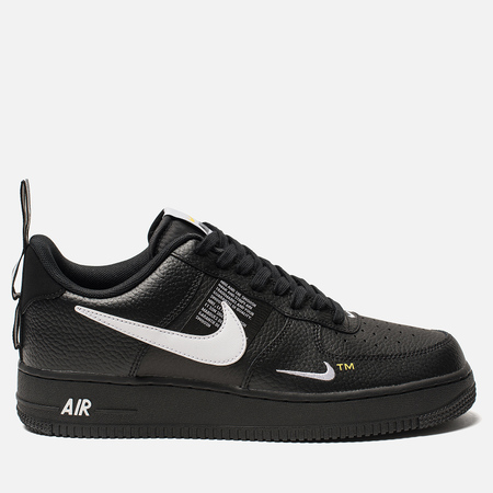 Мужские кроссовки Nike Air Force 1 '07 LV8 Utility Black/White/Black/Tour Yellow
