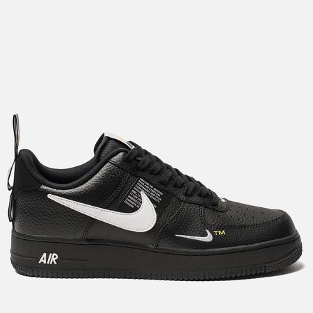 Мужские кроссовки Nike Air Force 1 '07 LV8 Utility Black/White/Black/Tour Yellow