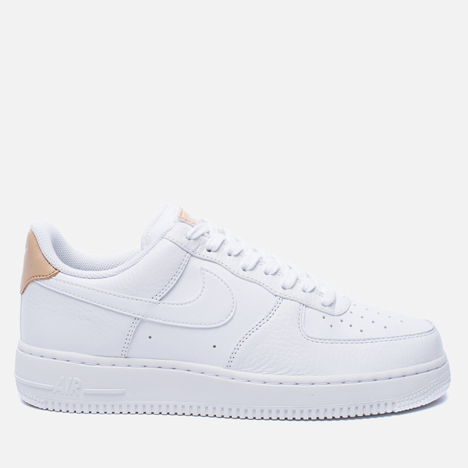 Мужские кроссовки Nike Air Force 1 '07 LV8 White/Vachetta Tan