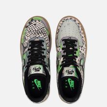 Мужские кроссовки Nike Air Force 1 07 QS Black/Black/Green Spark/Gum Light Brown фото- 1