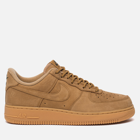 Мужские кроссовки Nike Air Force 1 '07 WB Flax/Gum Light Brown/Outdoor Green