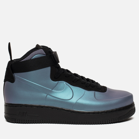 Мужские кроссовки Nike Air Force 1 Foamposite Cupsole Light Carbon/Light Carbon/Black