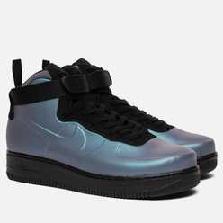 Мужские кроссовки Nike Air Force 1 Foamposite Cupsole Light Carbon/Light Carbon/Black