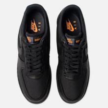 Мужские кроссовки Nike Air Force 1 Gore-Tex Black/Black/Light Carbon/Bright Ceramic фото- 1