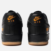 Мужские кроссовки Nike Air Force 1 Gore-Tex Black/Black/Light Carbon/Bright Ceramic фото- 2