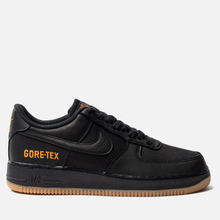 Мужские кроссовки Nike Air Force 1 Gore-Tex Black/Black/Light Carbon/Bright Ceramic фото- 3
