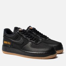 Мужские кроссовки Nike Air Force 1 Gore-Tex Black/Black/Light Carbon/Bright Ceramic фото- 0