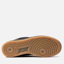 Мужские кроссовки Nike Air Force 1 Gore-Tex Black/Black/Light Carbon/Bright Ceramic фото- 4