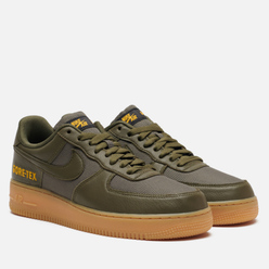 Мужские кроссовки Nike Air Force 1 Gore-Tex Medium Olive/Sequoia/Gold/Black