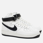 Мужские кроссовки Nike Air Force 1 Hi Retro QS Summit White/Black фото- 1