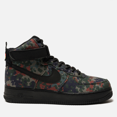 Мужские кроссовки Nike Air Force 1 High '07 LV8 Alligator/Black/Safari/Patina