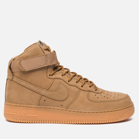 Мужские кроссовки Nike Air Force 1 High '07 LV8 Workboot Flax/Flax/Outdoor Green/Gum