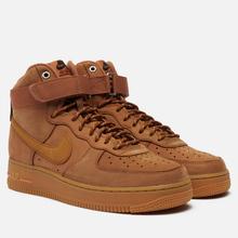 Мужские кроссовки Nike Air Force 1 High 07 WB Flax/Wheat/Gum Light Brown/Black фото- 3