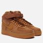 Мужские кроссовки Nike Air Force 1 High 07 WB Flax/Wheat/Gum Light Brown/Black фото - 3