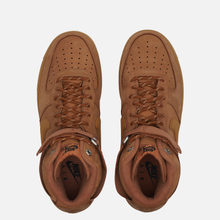 Мужские кроссовки Nike Air Force 1 High 07 WB Flax/Wheat/Gum Light Brown/Black фото- 5
