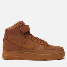Мужские кроссовки Nike Air Force 1 High 07 WB Flax/Wheat/Gum Light Brown/Black фото- 2
