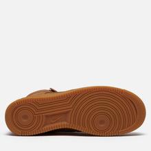 Мужские кроссовки Nike Air Force 1 High 07 WB Flax/Wheat/Gum Light Brown/Black фото- 4
