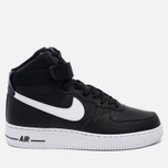 Nike Air Force 1 High Men's Sneakers Black/White photo- 0