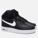Nike Air Force 1 High Men's Sneakers Black/White photo- 1