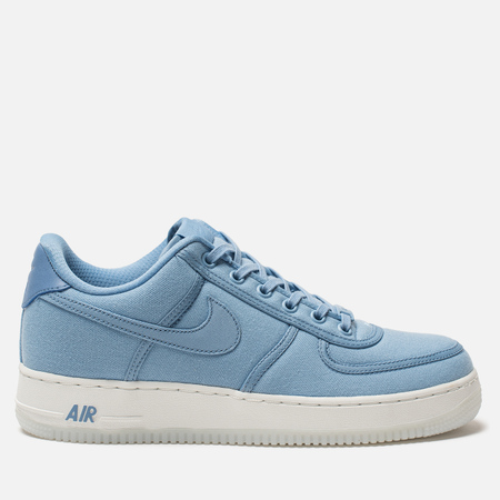 Мужские кроссовки Nike Air Force 1 Low Retro QS Canvas December Sky/December Sky/Off White