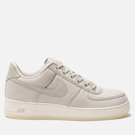 Мужские кроссовки Nike Air Force 1 Low Retro QS Canvas Light Bone/Light Bone/Sail