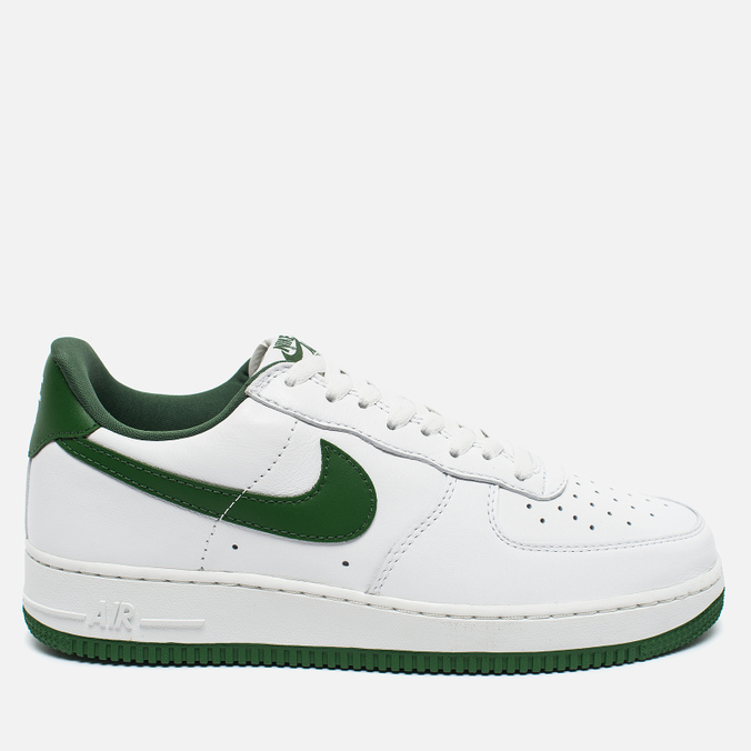 Мужские кроссовки Nike Air Force 1 Low Retro Summit White/Forest Green