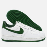 Мужские кроссовки Nike Air Force 1 Low Retro Summit White/Forest Green фото- 1
