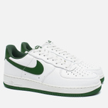Мужские кроссовки Nike Air Force 1 Low Retro Summit White/Forest Green фото- 2