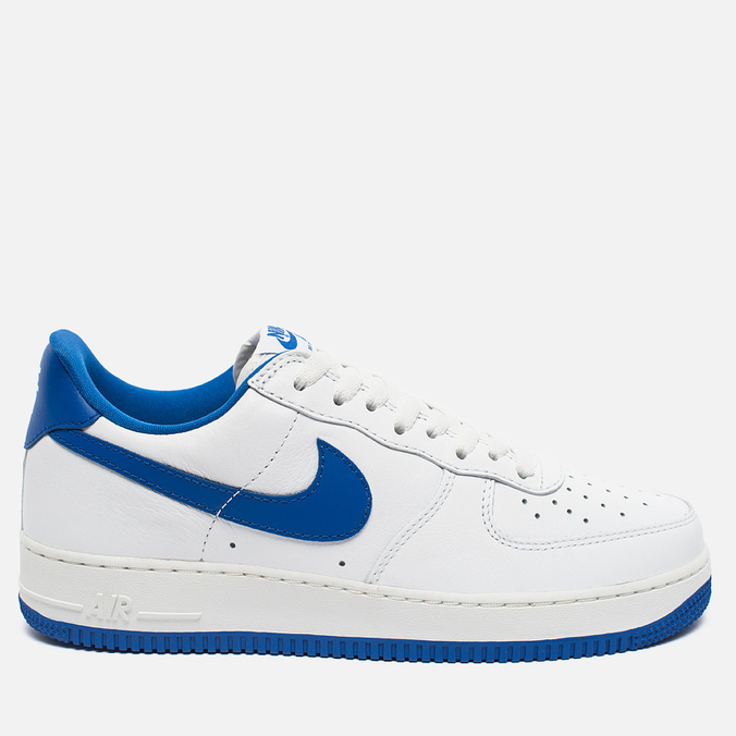 Мужские кроссовки Nike Air Force 1 Low Retro Summit White/Game Royal