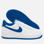 Мужские кроссовки Nike Air Force 1 Low Retro Summit White/Game Royal фото- 2