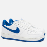 Мужские кроссовки Nike Air Force 1 Low Retro Summit White/Game Royal фото- 1