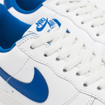 Nike Air Force 1 Low Retro Summit Men's Sneakers White/Game Royal photo- 5
