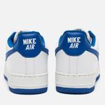 Nike Air Force 1 Low Retro Summit Men's Sneakers White/Game Royal photo- 3