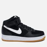 Мужские кроссовки Nike Air Force 1 Mid '07 Black/ White фото- 0