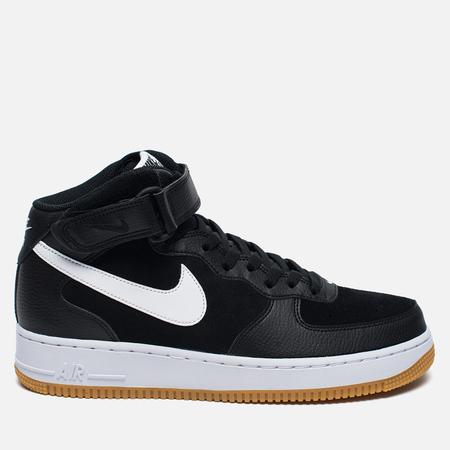 Мужские кроссовки Nike Air Force 1 Mid '07 Black/ White