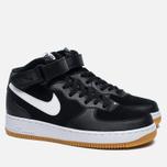 Мужские кроссовки Nike Air Force 1 Mid '07 Black/ White фото- 2