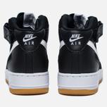 Мужские кроссовки Nike Air Force 1 Mid '07 Black/ White фото- 5