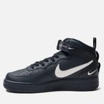 Мужские кроссовки Nike Air Force 1 Mid '07 LV8 Obsidian/White/Black/Tour Yellow фото- 1